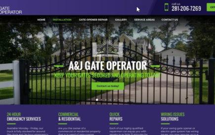 A&J Gate Operators Case Study
