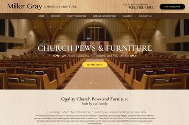 Miller Gray Church Furniture