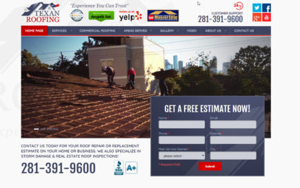 Texan Roofing Case Study