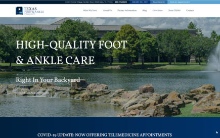 Texas Foot & Ankle Case Study